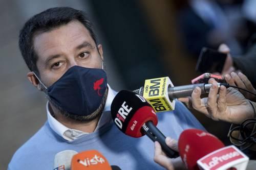 """Salvini: """"Lockdown? Se serve va fatto. Ma il governo ci ascolti"""". Poi fa una precisazione"""