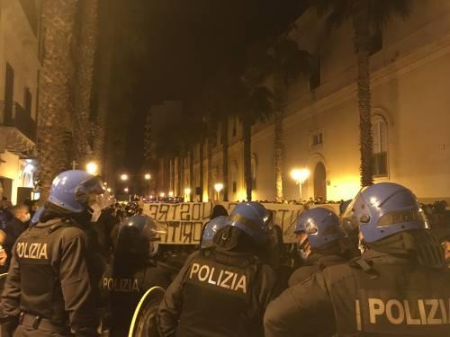Taranto, la manifestazione anti-lockdown 2