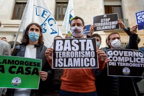 Quell'asse della Lega di Salvini col Partito anti-islamizzazione