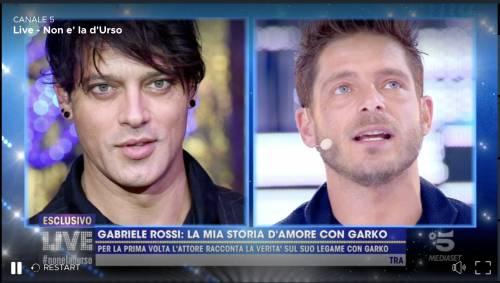 """Gabriele Rossi: """"Prima di essere il fidanzato di Garko sono stato il suo amante"""""""