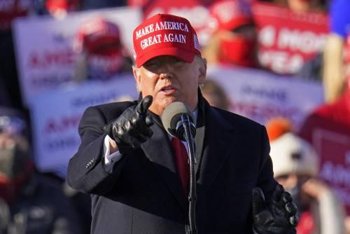 """""""Il voto è stato truccato"""". Le accuse di Trump in tv"""
