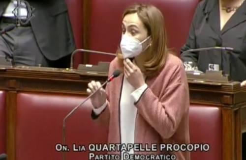 """""""Lì un quarto dei contagiati..."""". L'attacco della Quartapelle alla Lombardia"""