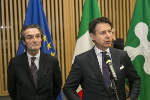 Messaggino di Conte a Fontana Così ha umiliato la Lombardia