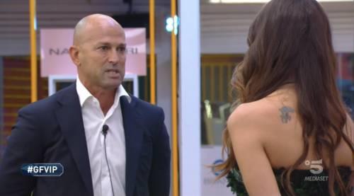 """Gf Vip, la confessione di Dayane Mello: """"Con Bettarini? Una sco... e basta"""""""
