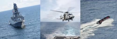 L'allarme, il volo poi gli spari: blitz della Marina contro pirati