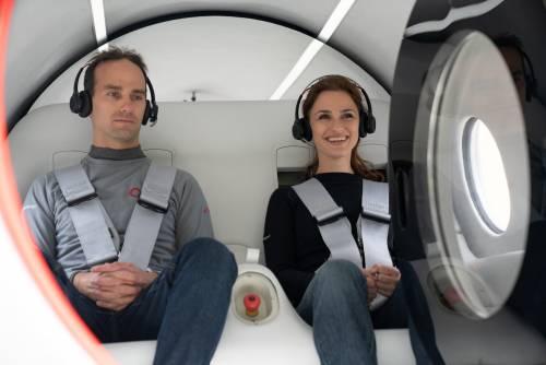 Virgin Hyperloop conduce il primo test con passeggeri a bordo