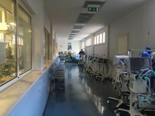 Bari, le immagini della seconda ondata nella terapia intensiva 4