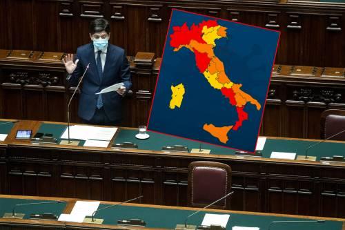 """Altre due Regioni diventano """"rosse"""": così l'Italia cambia (ancora) colori"""
