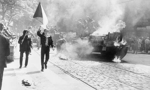 Primavera di Praga 1968 (Wikimedia)