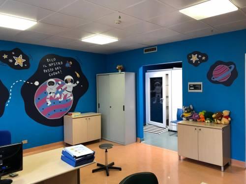 Buzzi, nuove sale e strumenti per otorinolaringoiatria pediatrica