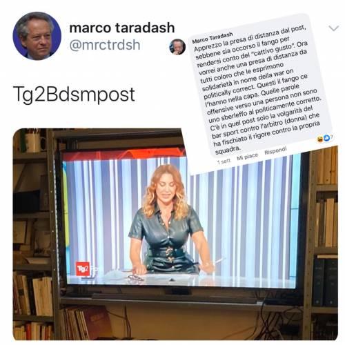 """L'attacco del """"radicale"""" Taradash a Manuela Moreno del Tg2 e il sessismo a doppio standard"""
