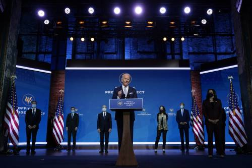 Biden e il team economico di donne. Pronto il maxi piano di aiuti anti Covid