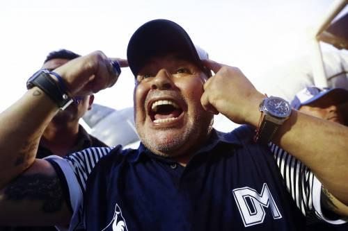 Le ultime ore disperate di Maradona