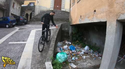 Degrado e violenza, Vittorio Brumotti nella capitale della 'ndrangheta