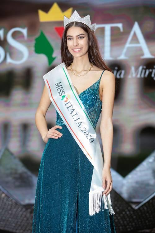 Martina Sambucini, 19 anni, è la nuova Miss Italia 2020