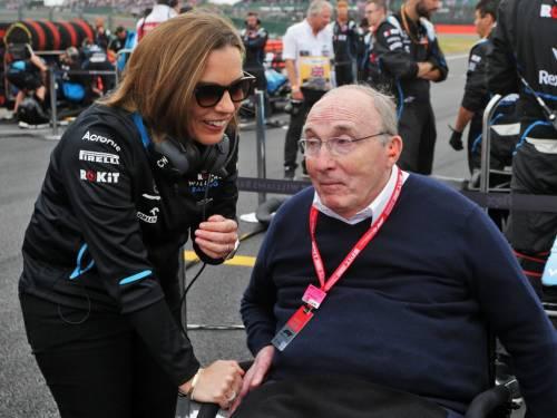 F1 col fiato sospeso per Frank Williams