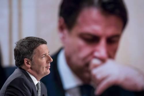 La scelta di Renzi: potere e poltrone. Salva Giuseppi e affossa Draghi
