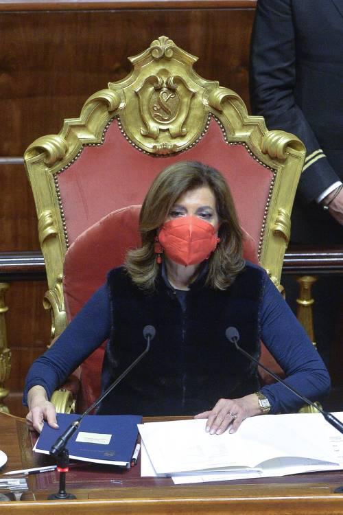 """La Casellati asfalta il governo: """"I ritardi sono incomprensibili"""""""