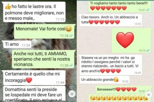 Maestra muore di Covid. Sua figlia pubblica gli ultimi messaggi scambiati su WhatsApp e attacca i negazionisti