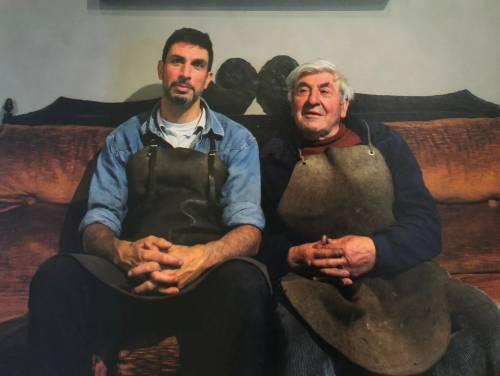 Luciano e Ivan Zanoni piegano il ferro alla natura