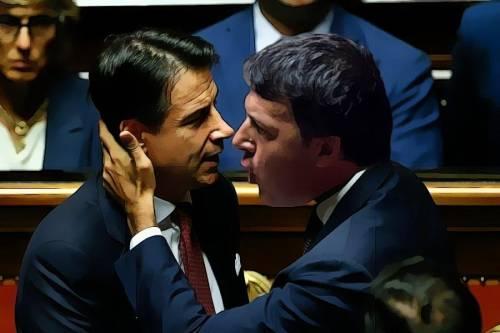 Ciao Giuseppi, tanti saluti da Renzi