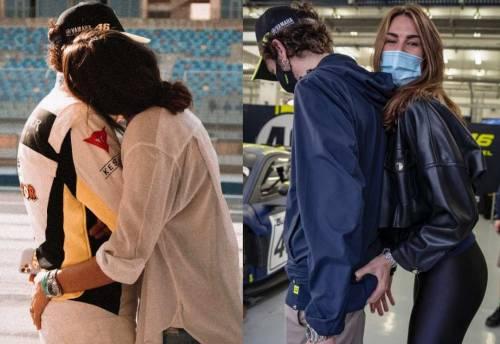 """""""Mi stai toccando lì"""", """"Cretino"""": botta e risposta tra Rossi e la fidanzata"""