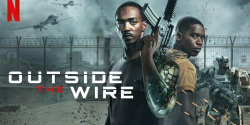 «Outside the Wire» è un film d' azione fantascientifico super pop |  ma ha qualche problema