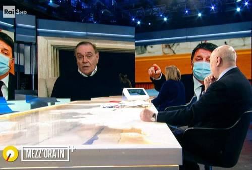 """""""Burinotto..."""", """"Sei solo sensale"""" E Mastella lascia la diretta in tv"""
