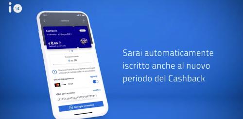 L'App Io non registra transazioni Bancomat. Cosa succede al cashback?