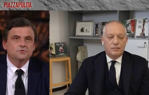 """Battibecco su La7 tra Carlo Calenda e Gomez: """"Vuole insegnare il mestiere al prof Galli?"""""""