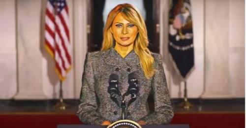 Perché Melania è stata una grande first lady