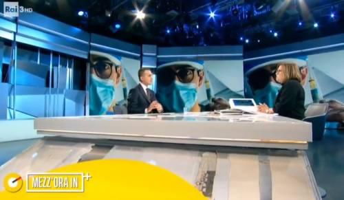 """La figuraccia di Di Maio in tv dalla Annunziata: """"Qualora Renzi..."""". Lo staff: """"Forma ammessa"""""""
