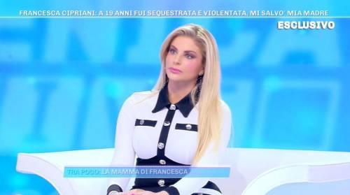 """Il racconto choc di Francesca Cipriani: """"Hanno provato a violentami"""""""