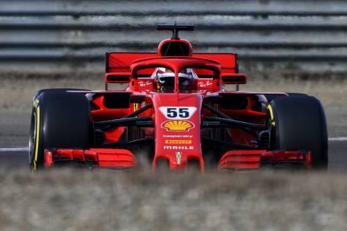Sainz Jr, l'indimenticabile primo giorno su una Ferrari F1