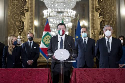 """Il centrodestra da Mattarella: """"No ai voltagabbana, diamo la parola agli italiani"""""""