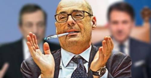 La verità su Zingaretti, leader-Fantozzi asfaltato da Renzi