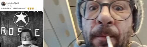 Contro Salvini il post choc del militante rosso