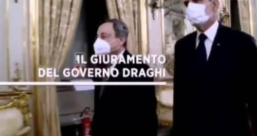 """""""È morto qualcuno?"""", la sigla dello speciale Tg1 sul governo Draghi è virale"""