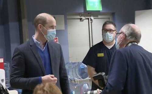 Il principe William scioglie il silenzio sulla salute di Filippo