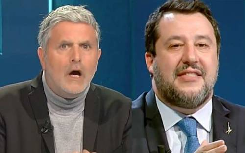 """""""Aprire ristoranti a cena"""", """"Ma la gente se 'mbriaca"""": rissa fra Salvini e Lucci"""