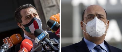 """""""Irrispettoso"""", """"Salvini sbaglia"""". È rissa sul lockdown a Pasqua"""