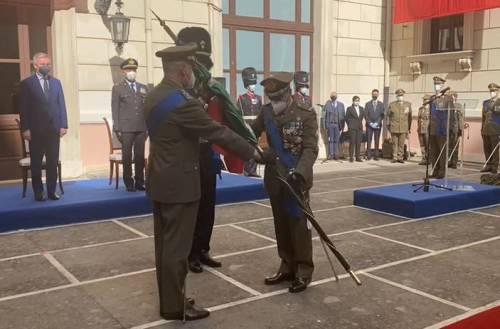 Il generale Serino si insedia al vertice dello Stato Maggiore dell