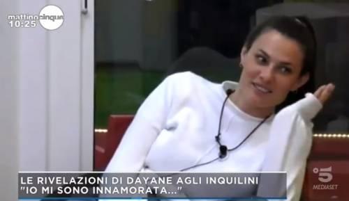 """Dayane Mello spiazza tutti: """"Sono innamorata. Fuori da qui c'è una persona"""""""