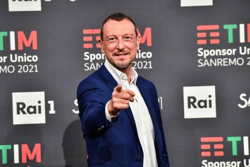 """Fiorello giura fedeltà ad Amadeus """"Neanche Renzi ci dividerebbe..."""""""