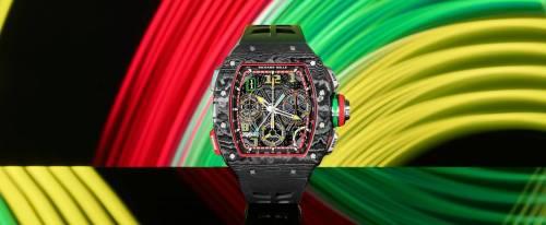 Richard Mille, il crono sdoppiante e la Ferrari