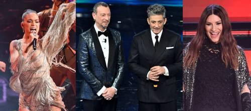 Sanremo brucia 2 milioni di spettatori. Mai così male dal 2015: -11%