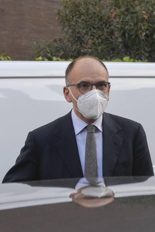 Il segretario del Pd Enrico Letta