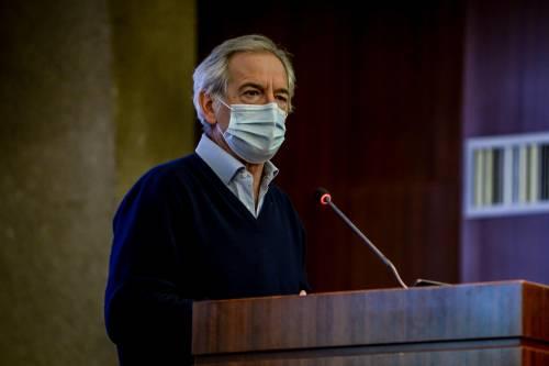 """Bertolaso: """"Ora in Lombardia 33mila vaccinati al giorno"""""""