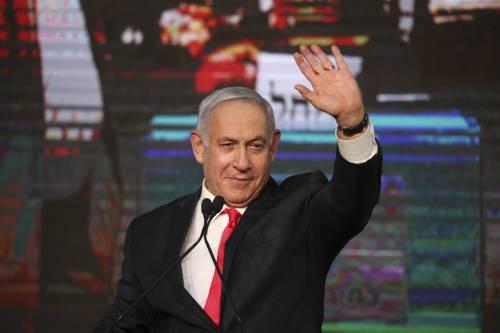 """Netanyahu resta """"corto"""" di due seggi. Israele è appeso ai ricatti degli arabi"""