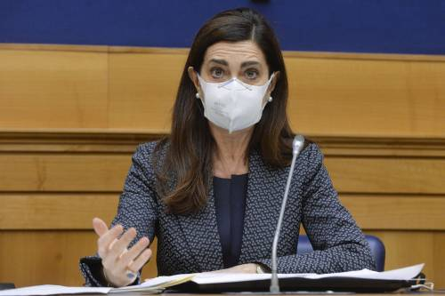 La deputata Laura Boldrini